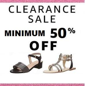 Women's Footwear Sale – Minimum 50% off @ Amazon