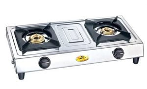 Bajaj Popular Eco 2 Stainless Steel 2-Burners Gas Stove worth Rs.2590 for Rs.1299 – Pepperfry (Lowest Price Deal for limited Period)