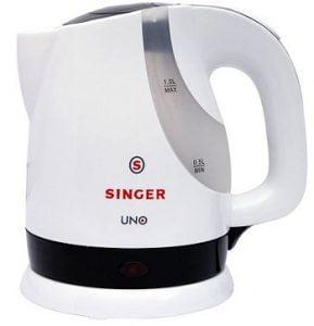 Singer UNO/SKT 100 UBI Electric Kettle  (1 L, Black) for Rs.599 – Flipkart