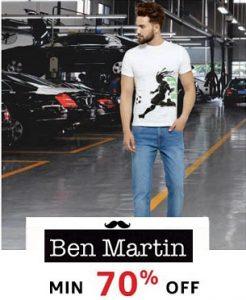 Ben Martin Men's Clothing – Minimum 70% off @ Amazon