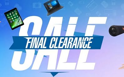 Stock Clearance Sale on Electronic Gadgets – Flipkart