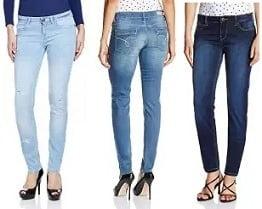 Women's Top Brand Jeans - Min 50% Off