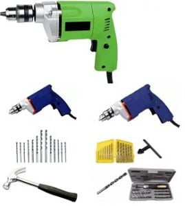 Power Drill Machine (Home Improvement Tool) – Minimum 50% off starts Rs.778 @ Flipkart