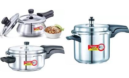 Hawkins & Prestige Pressure Cooker: Flat 15% – 20% off + Extra 10% – 15% off – Flipkart