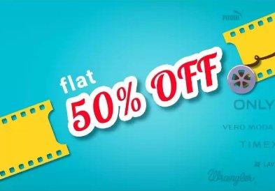 Minimum 50% off on Men's / Women's Fashion Styles + 15% Cashback with PhonePe @ Flipkart