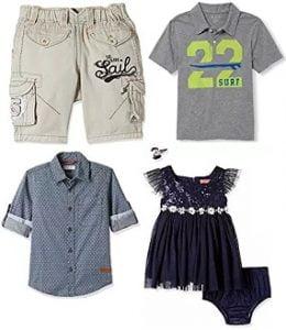 Kids Clothing – Minimum 60% off starts Rs.208 @ Amazon