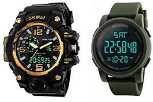 SKEMI Watches: Flat 76% – 90% off @ Amazon