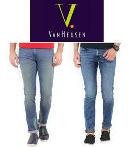 V Dot Jeans by Van Heusen – Flat 52% off starts Rs.804 + Extra 10% off @ Flipkart