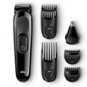 Steal Deal: Braun MGK-3020 Corded & Cordless Grooming Kit for Rs.1299 – Flipkart