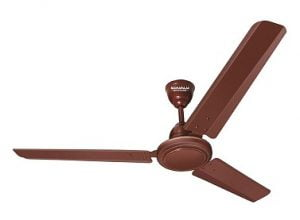 Maharaja Whiteline Wave 70W Copper Winding Brown Ceiling Fan, Sweep: 1200 mm for Rs.999 – Moglix