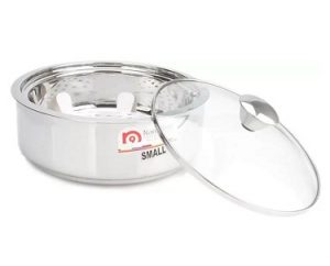 NanoNine SS086 Stainless Steel Insulated Chapati Small Casserole for Rs.449 – Amazon