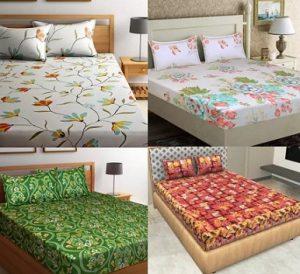 Flipkart SmartBuy Double Bedsheet (Minimum TC 104) – Flat 60% – 75% off starts Rs.299 – Flipkart