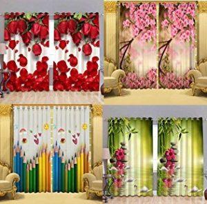 Digital Print 3d Curtains Flat 50 93 Off Amazon