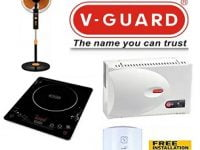 V Guard Appliances (AC & TV Stabilizers, Induction Cooktops, Fan, Water Heaters) upto 46% off – Amazon