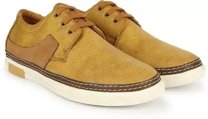 Indigo Nation Sneakers For Men  (Beige) worth Rs.2999 for Rs.778 – Flipkart