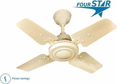 Four Star GALLAXY Smart Turbo High Speed 4 Blade Ceiling Fan for Rs.974 – Flipkart (Limited Period Offer)