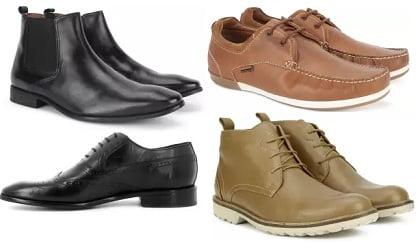 Hush Puppies Shoes – Flat 40% – 63% off @ Flipkart