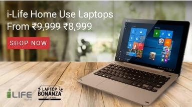 i-Life Laptops starts from Rs. 8,999 @ Flipkart