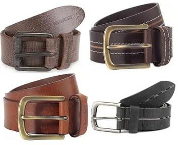 Newport Casual Genuine Leather Belt – Flat 75% Off @ Flipkart