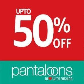 Pantaloon Clothing Upto 50% Off @ Amazon