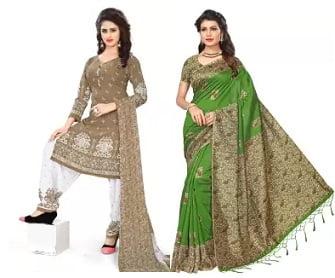 Sarees & Suits under Rs.699 – Flipkart