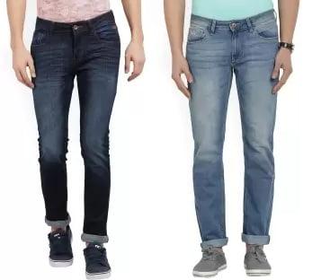 Great Discount Deal on Men's Top Brand Denim – Min 50% off @ Flipkart