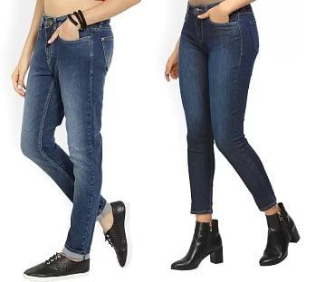 Women's Top Brand Jeans – Minimum 40% off starts from Rs. 359 @ Flipkart