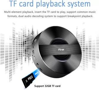 PTron MusicBot BT Mini Portable 3 W Bluetooth Speaker for Rs.699 – Flipkart