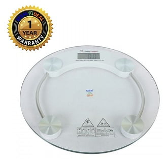 Stealodeal 150kg Digital Round Body Weighing Scale, RW_150 for Rs.499 – Moglix