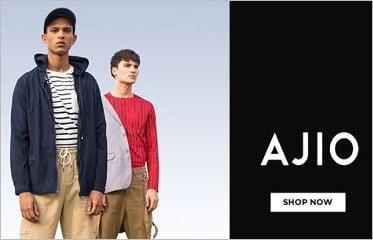 Flat 60% – 80% off on Men's Clothing – Ajio