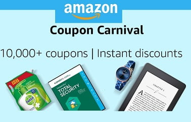 Amazon Instant Discount Coupon: 10000+ Coupons on Fashion & Home Need Products