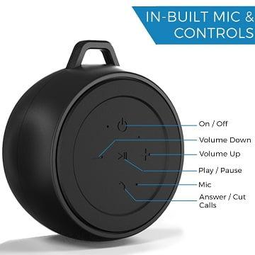 iVoltaa X1 Rugged 3 W Portable Bluetooth Speaker for Rs.499 – Flipkart