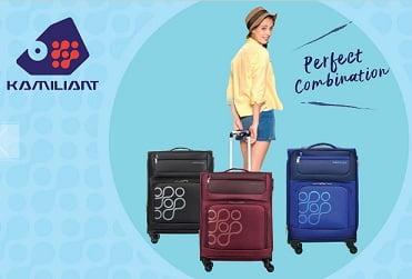 Kamiliant by American Tourister Checkin / Cabin Luggage – Minimum 60% off @ Flipkart