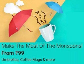 Monsoon Deals on Home & Kitchen @ Flipkart