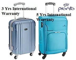 Pronto Luggage & Suitcases - Flat 75% off