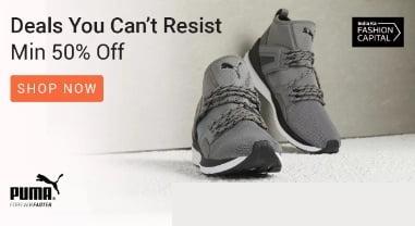 Puma Footwear – 50% – 70% Off @ Flipkart