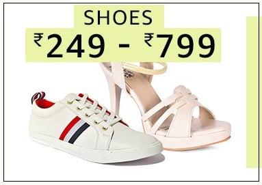 Men's / Women's Footwear under Rs.799 @ Amazon