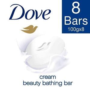 Dove Cream Beauty Bathing Bar, 100 g Pack of 8