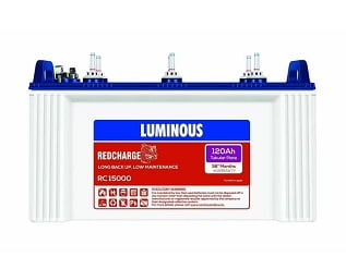 Luminous Red Charge 15000 Tubular Battery for Rs.9499 – Moglix