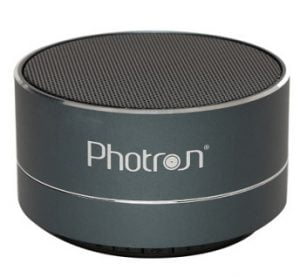 Photron P10 Wireless 3W Portable Bluetooth Speaker for Rs.597 – Myntra (Lowest Price Deal)