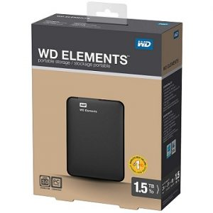 Steal Deal: WD Elements 1.5 TB Portable External Hard Drive for Rs. 3999 – Amazon (Limited Period Deal)