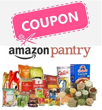 Amazon Pantry: Extra Discount Coupon for Grocery & Personal Care products