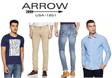 Arrow Men's Clothing - Flat 60% - 80% Off