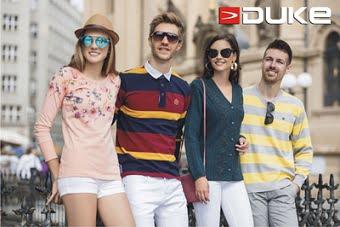 DUKE clothing – Flat 70% off + 15% Extra off @ Jabong