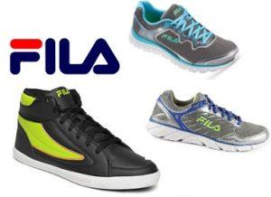 Flat 70% off on Fila Shoes