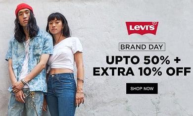 Levis Fashion Styles: Upto 55% off + Extra 10% off @ Jabong (No Minimum Purchase)