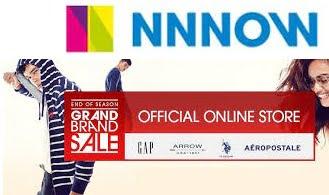 NNnow: Flat 50 – 70% off on USPA, Aeropostale and GAP Clothing