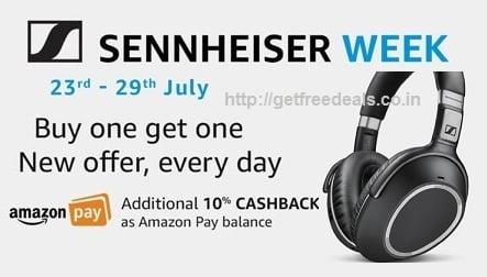 Sennheiser Week: Buy any Wireless Headphone & Get Sennheiser HD 206 Headphones FREE @ Amazon