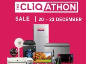 Tatacliq Cliqathon Sale – Upto 70% off on Mobile & Appliances + 10% instant off with SBI Credit Cards
