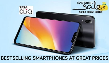 Mobile Phones at Great Discounted Price + Extra 10% Off with HDFC Credit & Debit Cards @ TATACLIQ